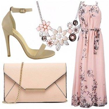 Outfit Rosa e fiori