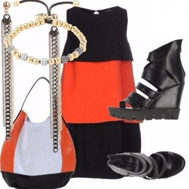 Outfit Zeppe e mini abito