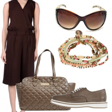 Outfit Total brown