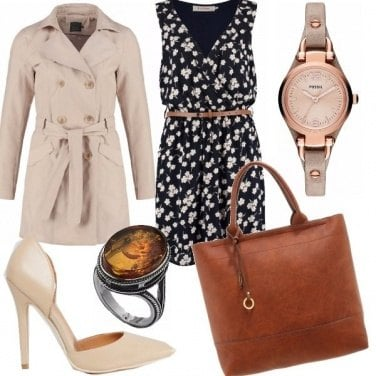 Outfit Passione trench
