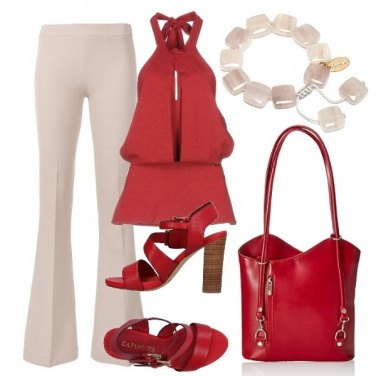 Outfit Red passione