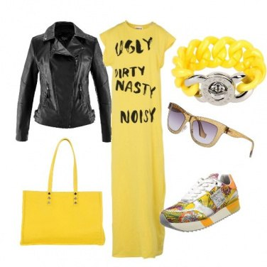 Outfit Miss yellow