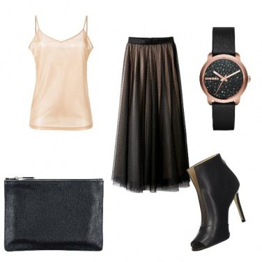 Outfit Night Dark Lady