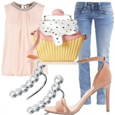 Outfit Cupcake pastello