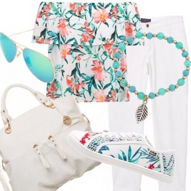 Outfit Tropicana yeah! #curvystyle