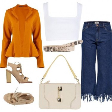 Outfit Giacca colorata