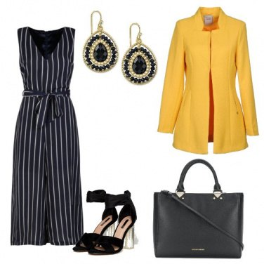 Outfit L\'eleganza del gessato