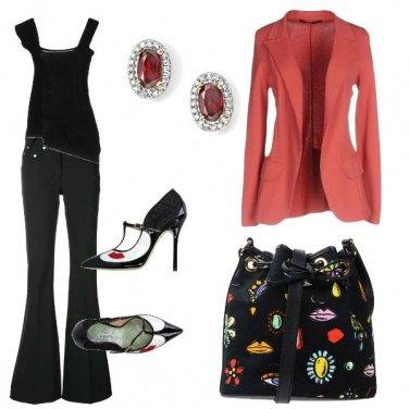Outfit La giacca corallo