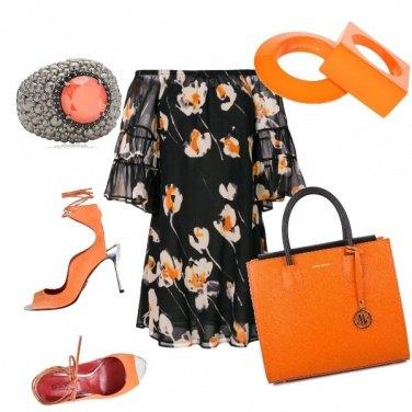 Outfit Sfumature d'arancio