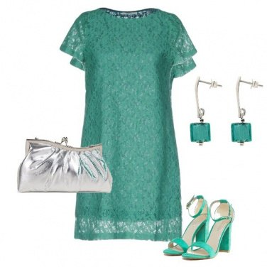 Outfit Cerimonia in fresh green