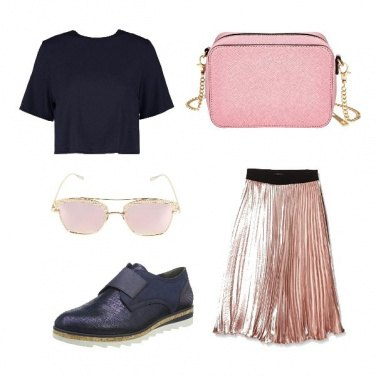Outfit Rosa blu