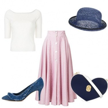 Outfit Look romantico per Alice