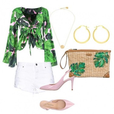 Outfit Hawaian style