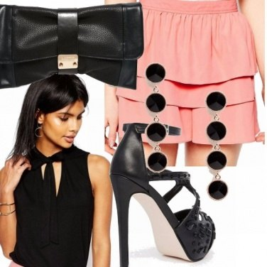 Outfit Elegante con gli shorts