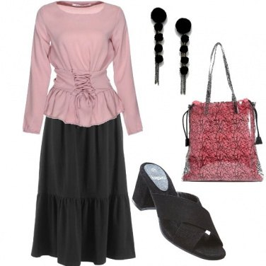 Outfit Gonna a balze... trendy