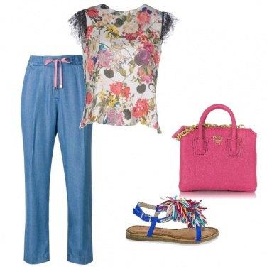Outfit Passeggiata colorata