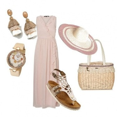 Outfit Rosa glamour