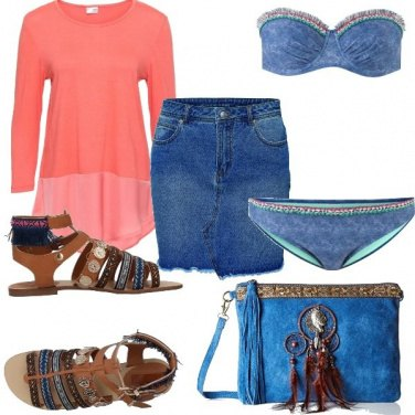Outfit Mini di Jeans by Beatrice Bianchi