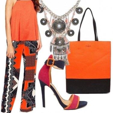 Outfit Stile etnico supercolorato