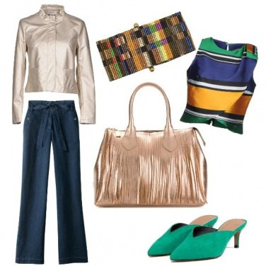 Outfit Gold&colors