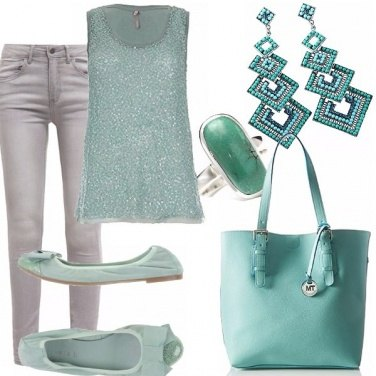 Outfit #acquamarina