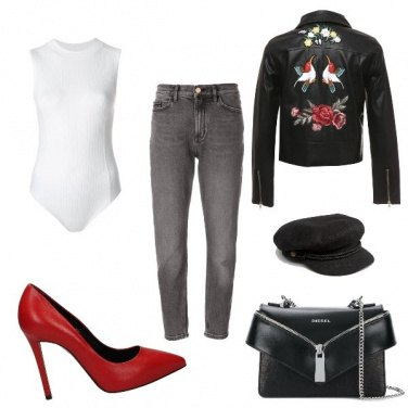 Outfit Tocco Rock per Gin
