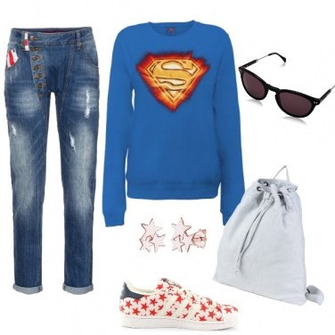 Outfit Superwoman