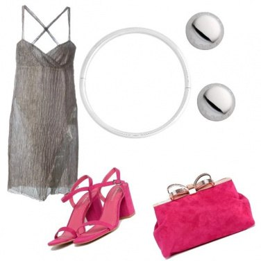 Outfit Nude con colore