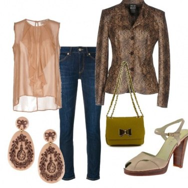 Outfit Giacca e jeans