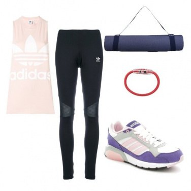 Outfit Yoga all\'aperto