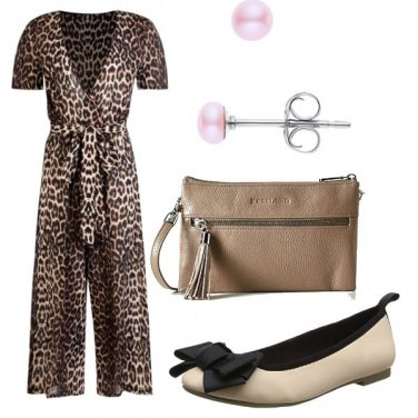 Outfit Animalier a lavoro