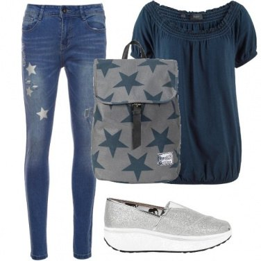 Outfit A scuola leggera