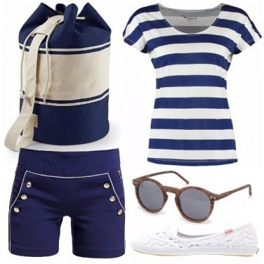 Outfit Blue sea