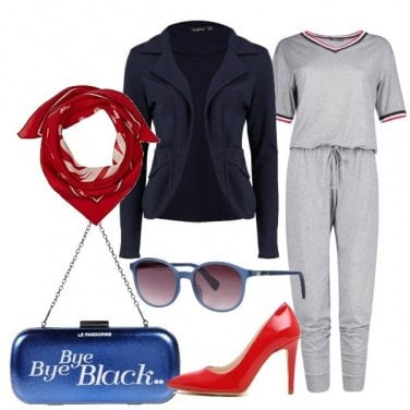 Outfit Sporty chic style