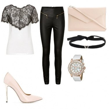 Outfit Rock Nude