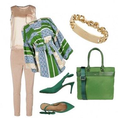 Outfit La giacca a kimono