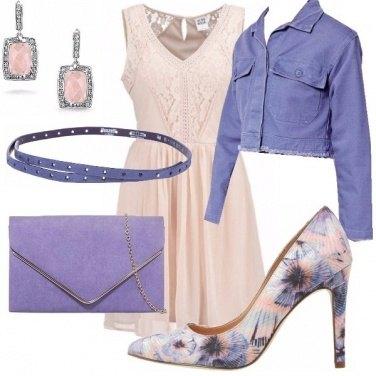 Outfit Rosa e lilla