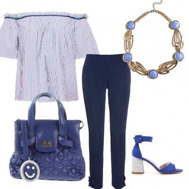 Outfit Primavera in blu