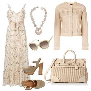 Outfit Nude vintage