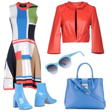 Outfit Fantasie colorate