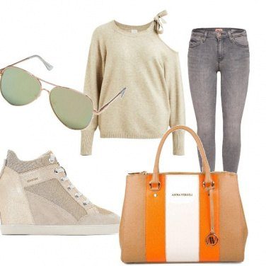 Outfit Scuola look