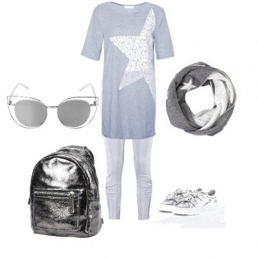 Outfit Sportiva ma sempre chic