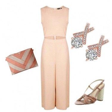 Outfit Elegante con la jumpsuit