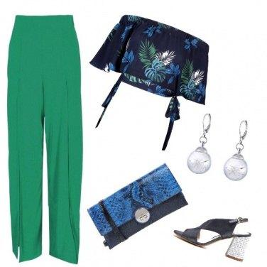 Outfit Il pantalone verde