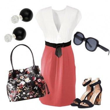 Outfit Stile in corallo
