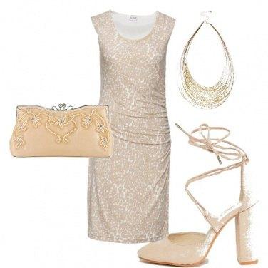 Outfit Cerimonia nude look