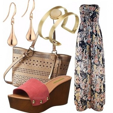 Outfit Print dress