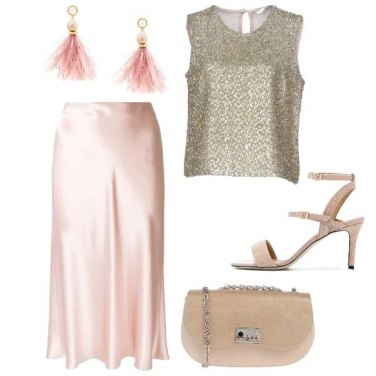 Outfit Cerimonia con toni neutri