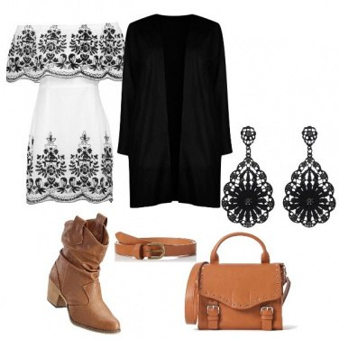 Outfit Cow girl style