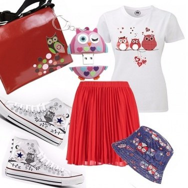 Outfit Owls \' passion